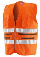 GILET ORANGE POLYESTER 9046 Soluprotech